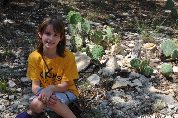 Cactus at Dinosaur Valley State Park