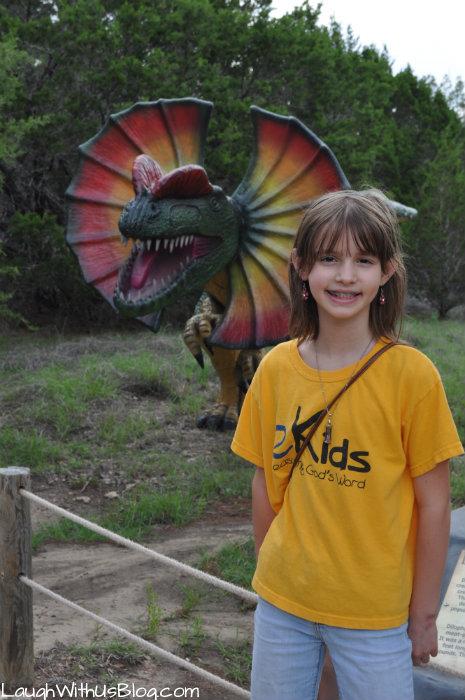 Dinos at Dino World #ad