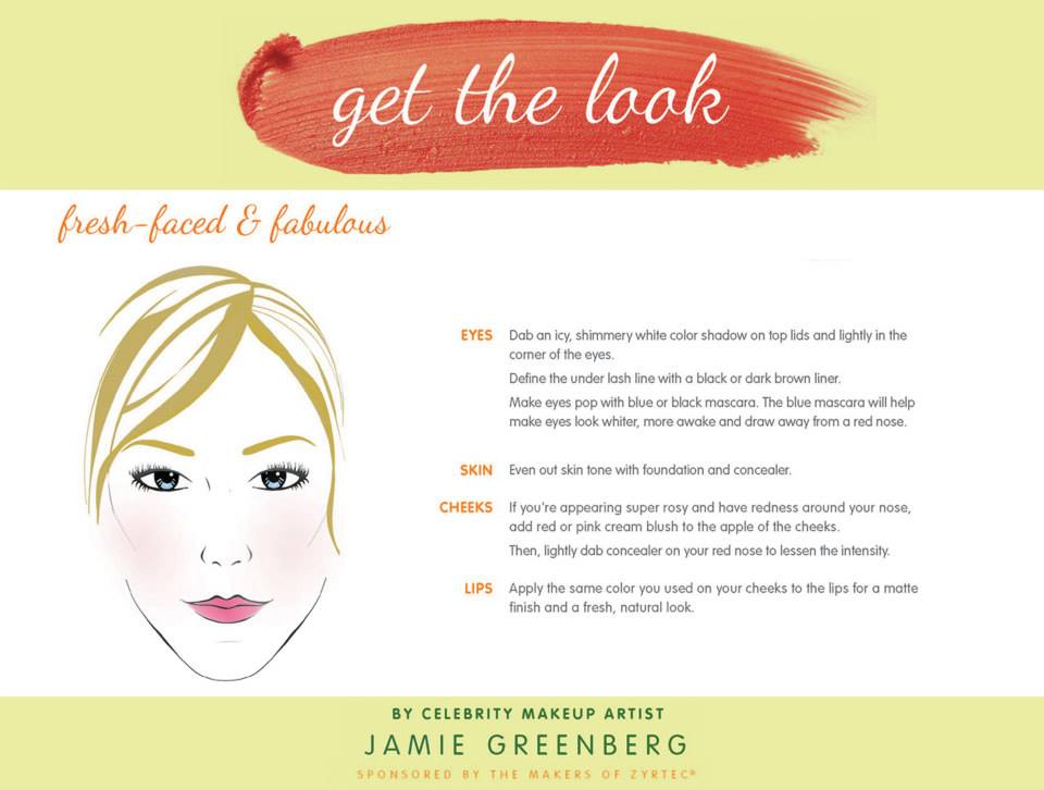 Get the look #ALLERGYFACE #ad