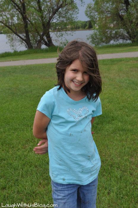 Grace at Virginia MN park
