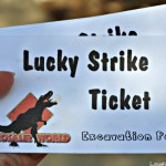 Lucky Strike Excavation at Dinosaur World #ad