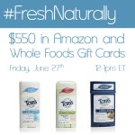 Join me for the #FreshNaturally Twitter Party