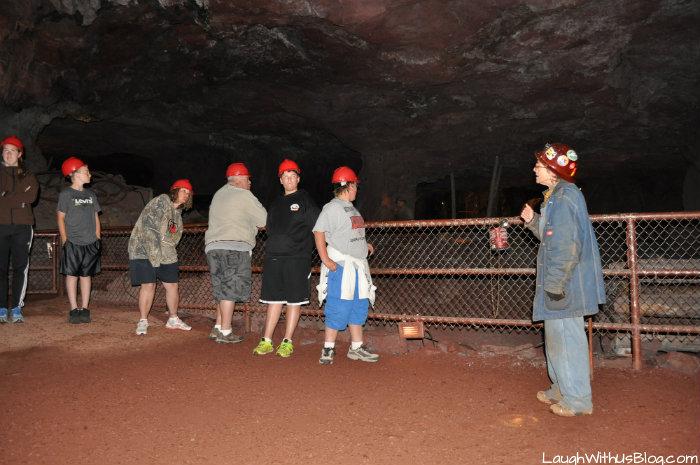 Soudan Underground Mine tour