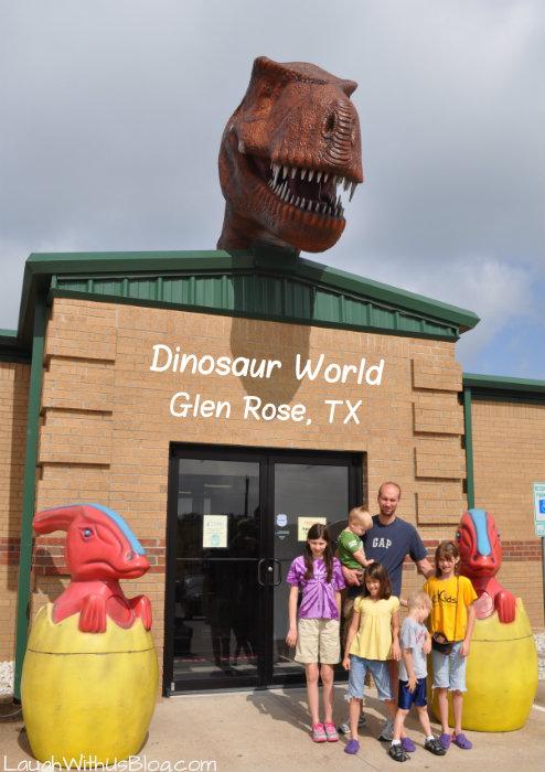 #ad Dinosaur World Glen Rose TX