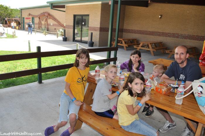 picnic at Dinosaur World Glen Rose #ad