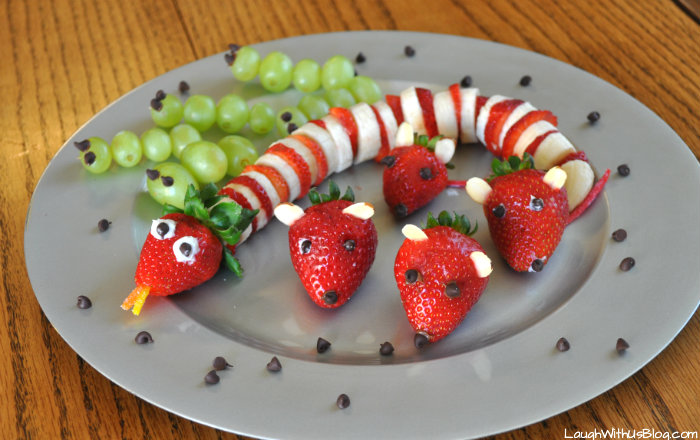Animal Fruit Snack platter #shop #cbias