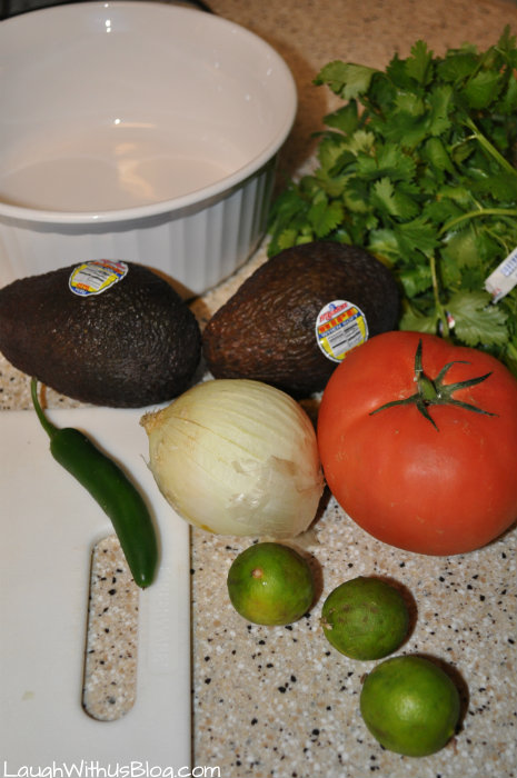 Avocado Salsa ingredients