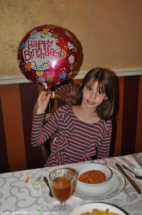 Birthday girl Joy