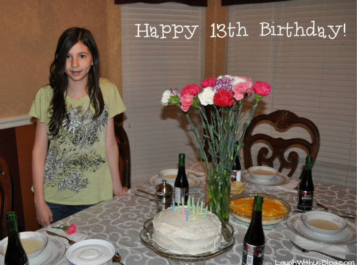 Happy 13th birthday Faith