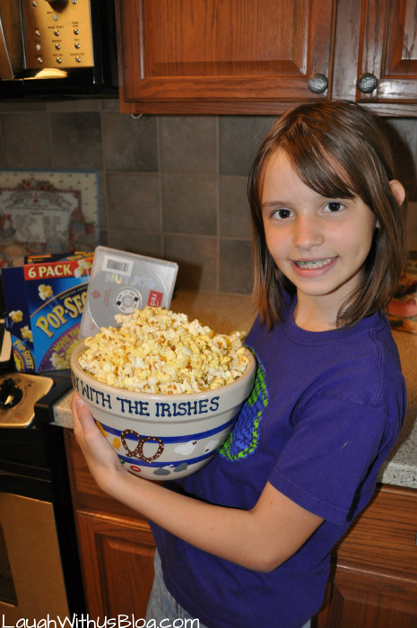 Ready for movie night #PerfectPop #sponsored