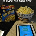 Family movie night just got more fun!  #PerfectPop #sponsored