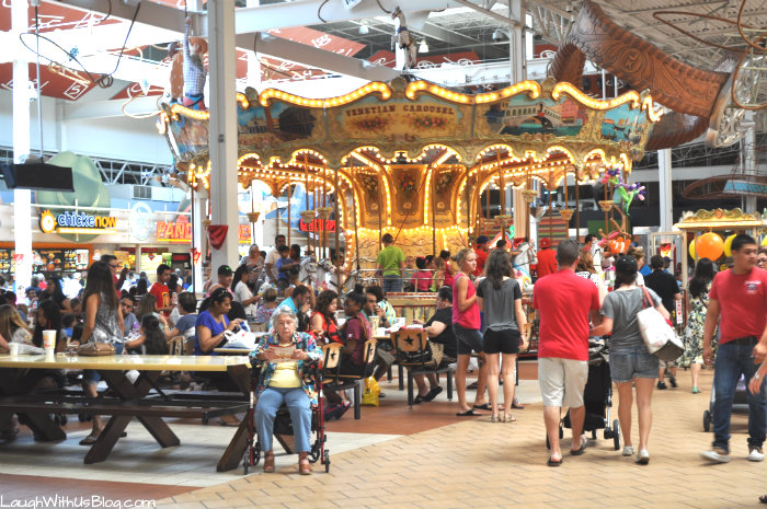 Carousel at Grapevine Mills Mall