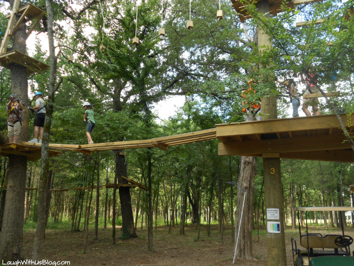 Trinity Forest Adventure Park Yellow Course #ad