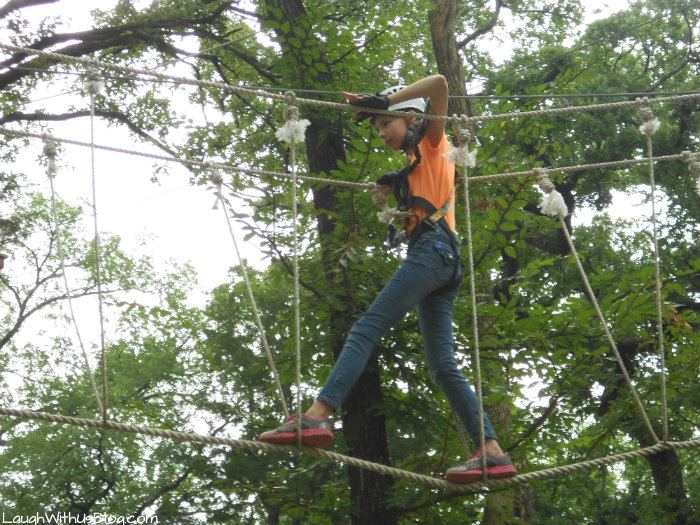 Trinity Forest Adventure Park ariel #ad