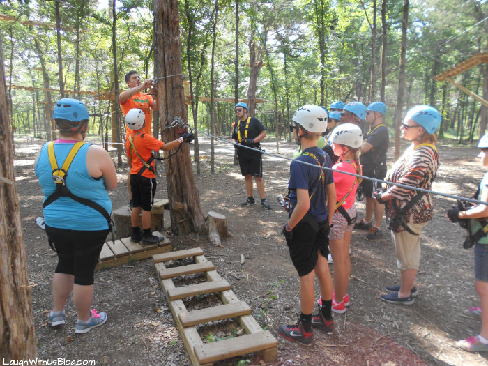 Trinity Forest Adventure Park training