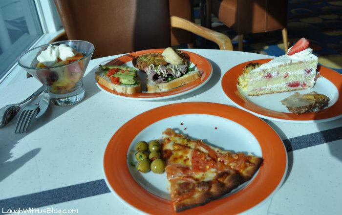 Celebrity Millennium Ocean view cafe food