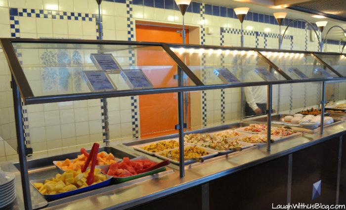 Celebrity Millennium Oceanview Cafe salads