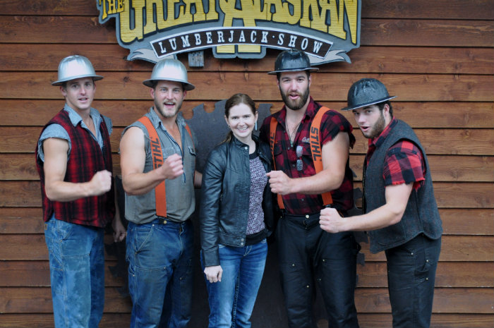 LaughWithUsBlog with the lumberjacks