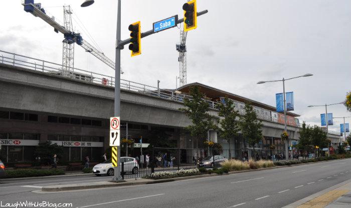 Translink Skytrain Vancouver
