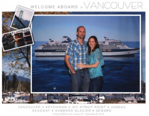 Welcome aboard in Vancouver