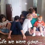 While we were gone…