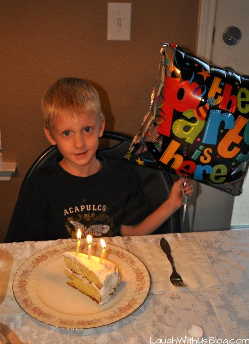 6th birthday cake Little Jason