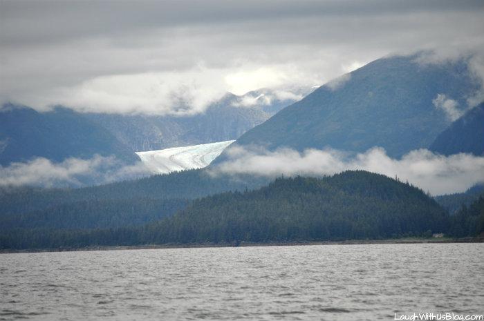 Glacier in Juneau Alaska