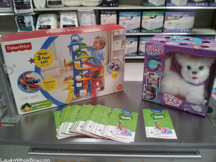 Little People City Skywalk at Walmart #ad