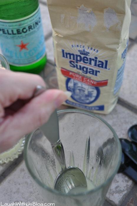 Stir the sugar