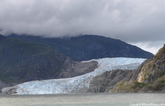 The Mendenhall Glacier