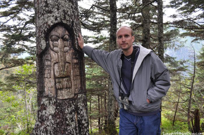 Tree art Mount Roberts Juneau Alaska