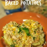 Tuna Stuffed Baked Potatoes Recipe