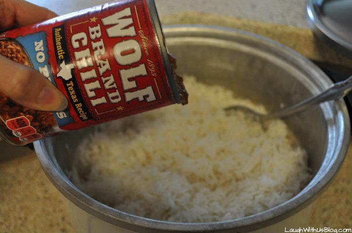 Wolf Brand Chili and Rice #ad #BloldWolfChili