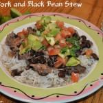 Cuban Pork and Black Bean Stew Recipe
