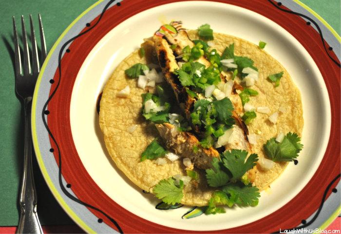Easy Chicken Fajitas 2 ingredients