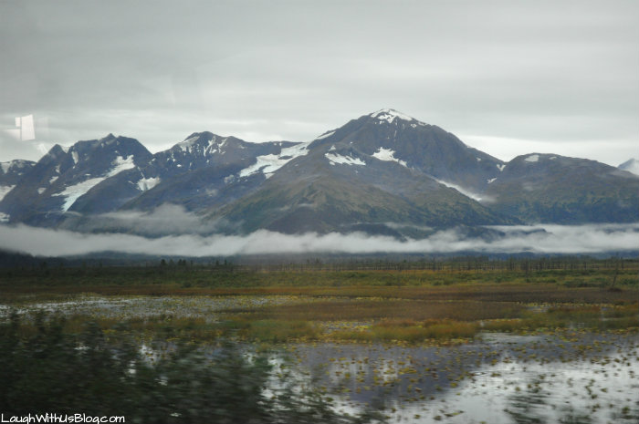 From Seward to Ancorage by bus