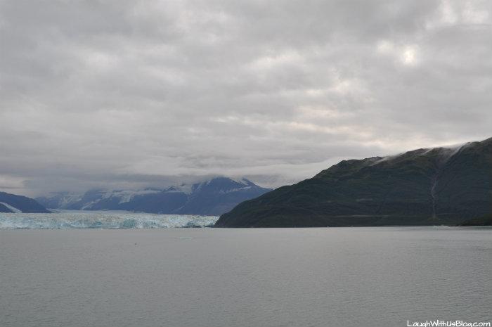 Hubbard Glacier first view
