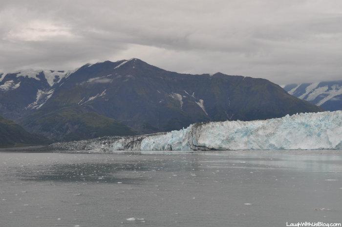 Hubbard Glacier mountains