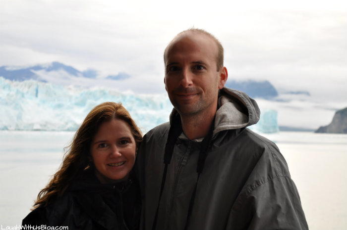 LaughWithUsBlog at Hubbard Glacier