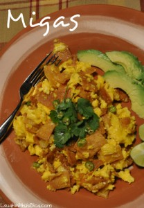 Migas–Breakfast Mexican Style