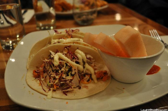 Salmon tacos at Peak Spirits Lounge Grande Denali Lounge