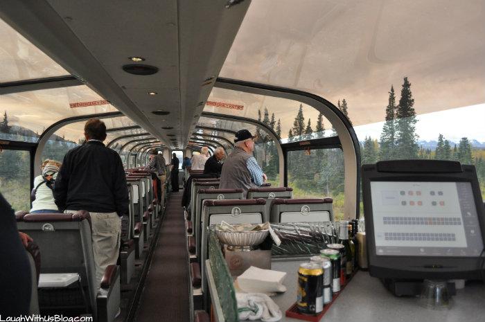 Alaska Railroad Goldstar Dome Service