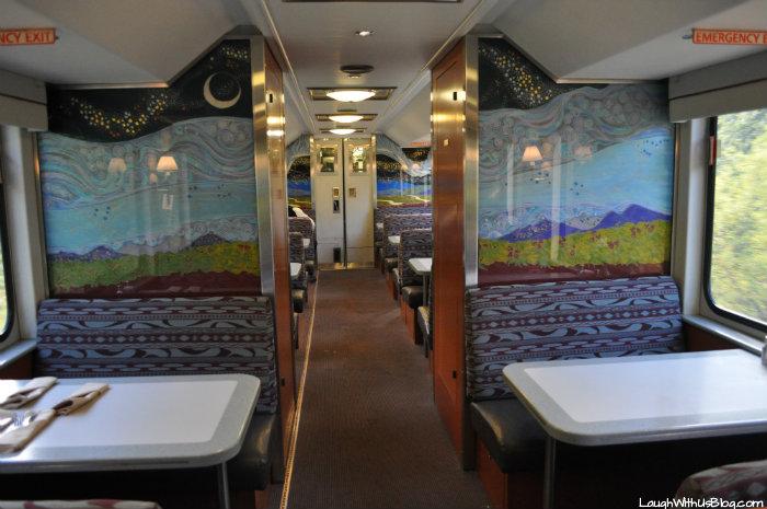 Alaska Railroad Goldstar Service Restaurant