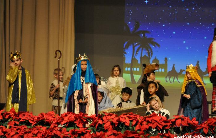 Christmas Program Manger Scene 2014