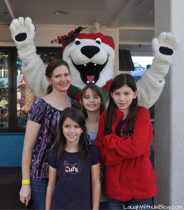 Christmas fun at Sea World Orlando #sponsored