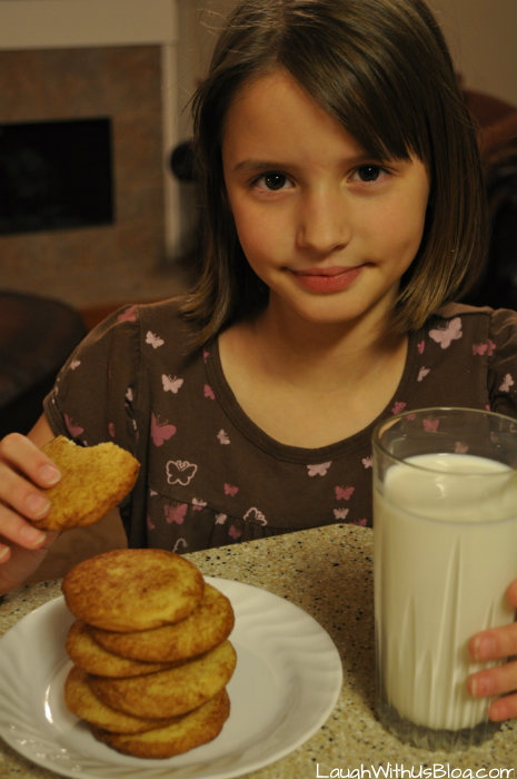 Enjoy Snickerdoodles #GoldrichYolk #ad
