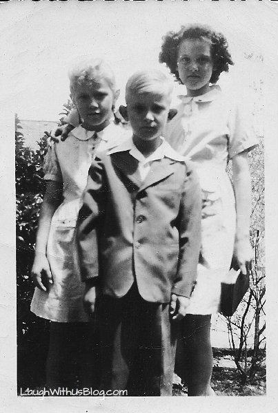 Mom and siblings before Honduras