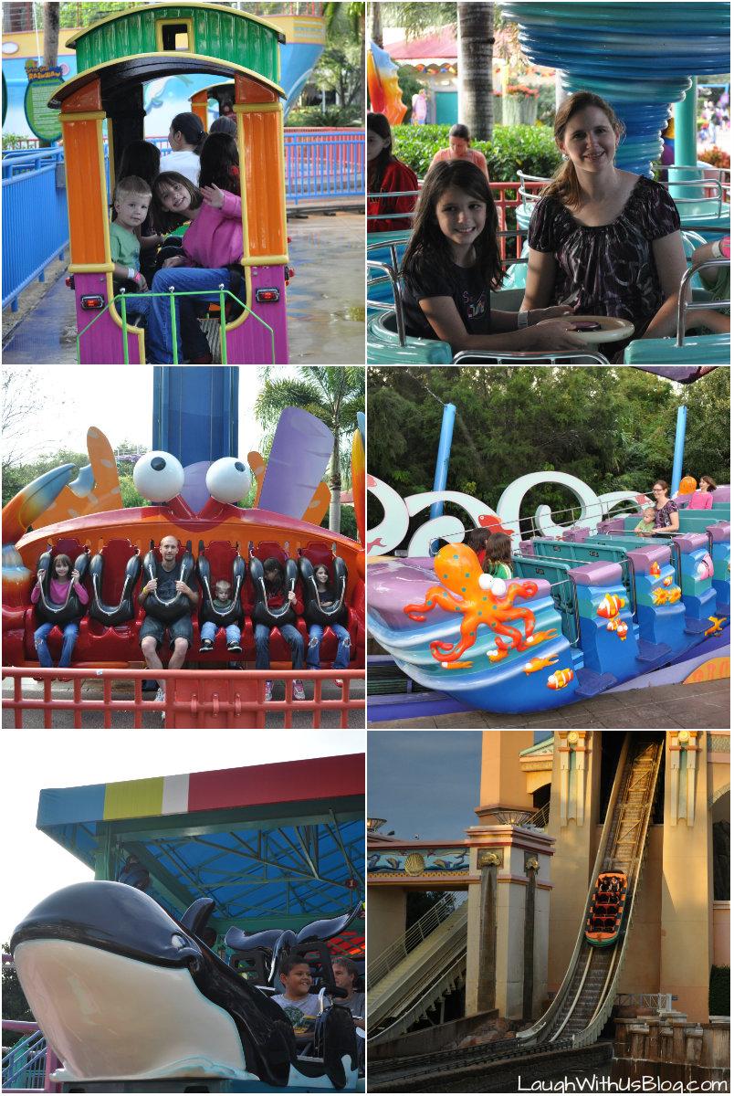 Sea World Orlando rides #sponsored