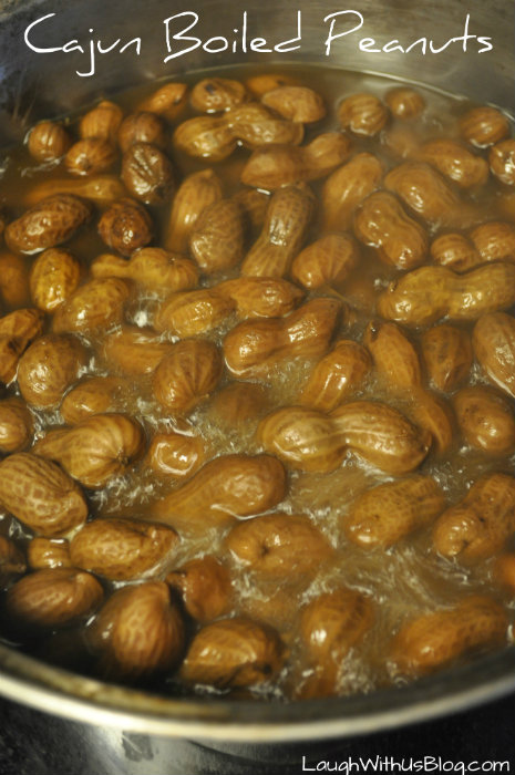 Cajun Boiled Peanuts