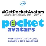 Join me for the #GetPocketAvatars Twitter Party!
